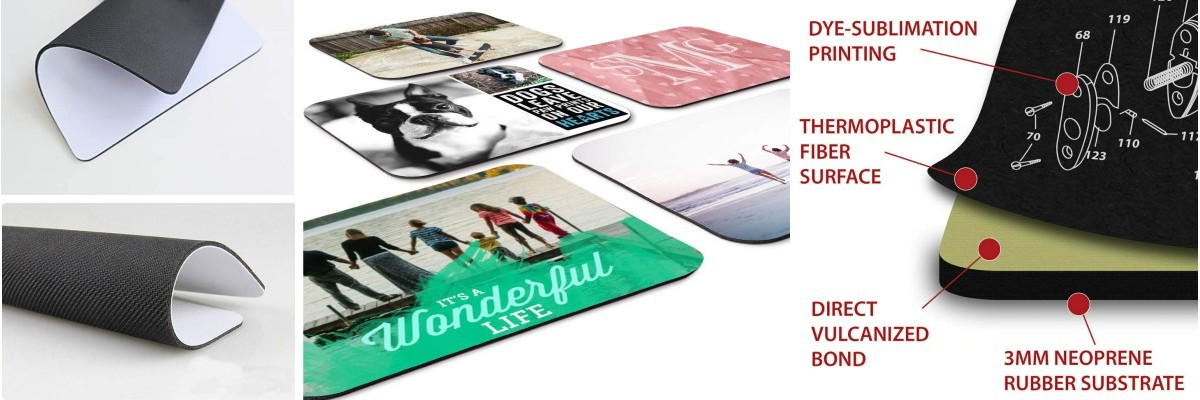 Mousepads, Modell: sub RECT