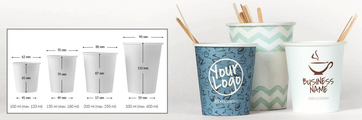 Paper cups 330 ml